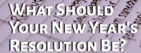 New Years Resolution Quiz