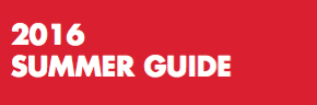 2016 Summer Guide