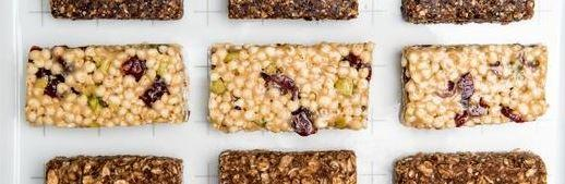 3 easy-to-make energy bars