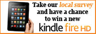 Chance to Win a Kindle Fire